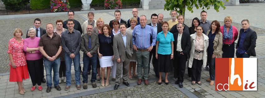 Les 29 candidats cdH-ic aux élections communales d'Andenne
