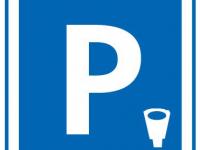 Photo panneau stationnement payant