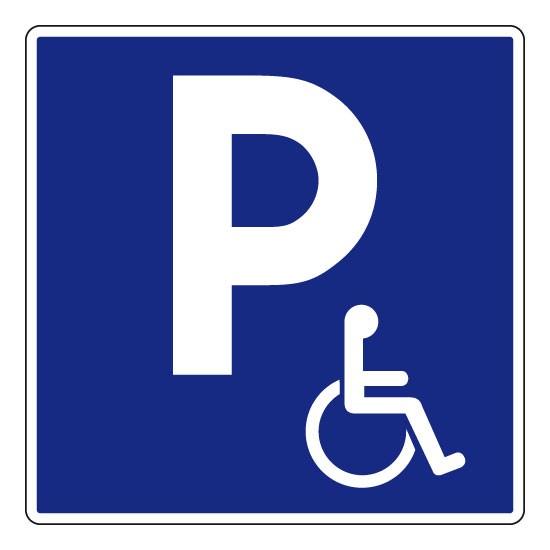 rendre le parking gratuit pour les personnes handicap es. Black Bedroom Furniture Sets. Home Design Ideas