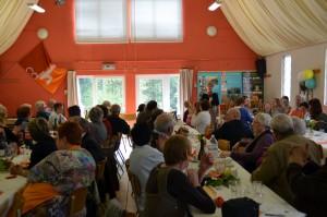 Plus d'une centaine de personnes ont fait le déplacement pour le repas du CDH d'Andenne