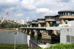 Pont-barrage d'Andenne